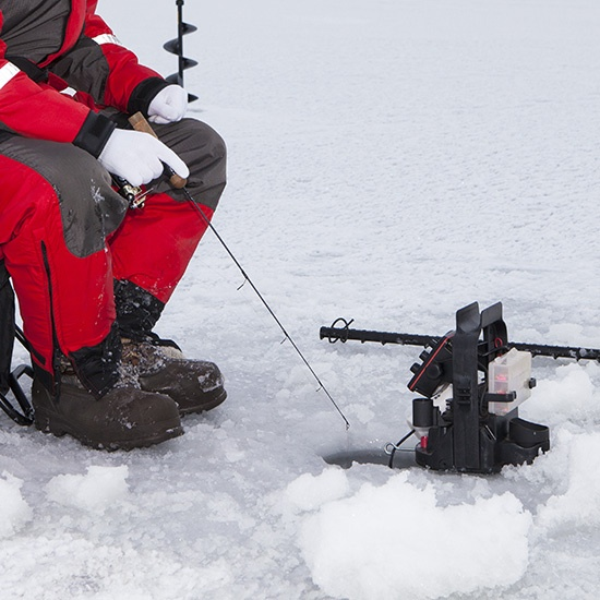 Lac du bonnet ice fishing derby will allow electronic for Ice fishing derby